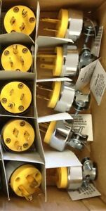 10 Male Extension Cord Replacement Ends 15 Amp Electrical Power Plug Repair $12.89