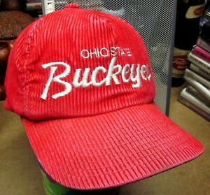OHIO STATE Sports Specialties baseball hat Buckeyes OSU cap embroidery 1980s