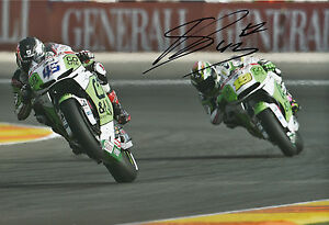 Scott Redding Hand Signed GO&FUN Honda Gresini 12x8 Photo 2014 MotoGP 15.