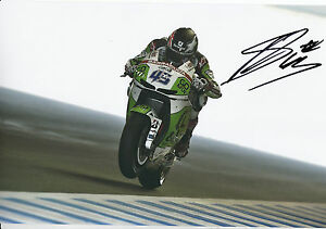 Scott Redding Hand Signed GO&FUN Honda Gresini 12x8 Photo 2014 MotoGP 18.