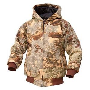 King's Camo Kids Classic Cotton Insulated Jacket Desert Shadow Youth