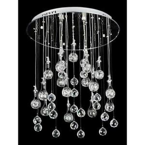 NEW Modern Crystal Pendant Hanging Light Ceiling Lighting Rain Drops Evrosvet $99.00