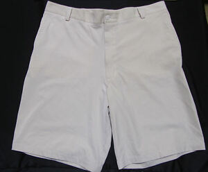 NIKE FIT DRY ~ Polyester Blend Flat Front Golf Shorts ~ Men's 36