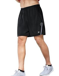 2 Champion Men's Marathon Shorts with Liner 88898