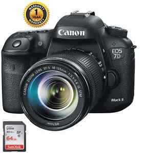 Canon EOS 7D Mark II DSLR Camera w EF-S 18-135mm  IS STM lens kit