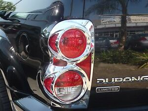 DODGE DURANGO SUV 2004 - 2009  TFP ABS CHROME TAIL LIGHT COVER SET - 312D