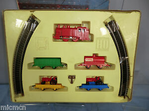 for mettoy model no 1401 clock work goods train