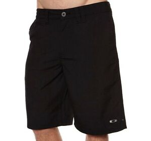 Oakley Coaster Black Size 34 Shorts Mens Casual Golf Chino Cargo Walkshorts New