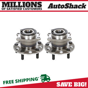 Rear Wheel Hub Bearing Assembly Pair 2 for Jeep Compass Patriot Dodge Caliber $77.21