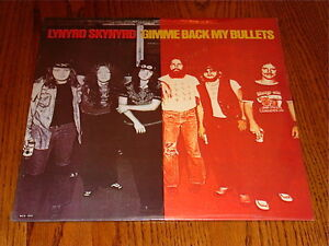 LYNYRD SKYNYRD GIMME BACK MY BULLETS ORIGINAL LP STILL SEALED!  1976