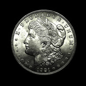 1921 **ALMOST UNCIRCULATED AU** Silver Morgan Dollar Rare US Antique Coin $31.95