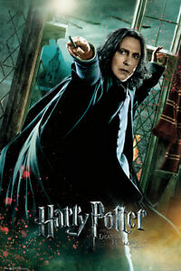 HARRY POTTER AND THE DEATHLY HALLOWS MOVIE POSTER PROFESSOR SNAPE 1