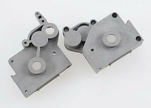 Traxxas 4191A Left Right Gearbox Halves Gray $6.72