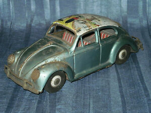 rare bandai vw friction beetle as holland
