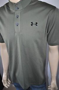 NEW $100 UNDER ARMOUR UA GOLF LOOSE FIT UA TIPS MEN`S GOLF POLO FOR MEN 1254993