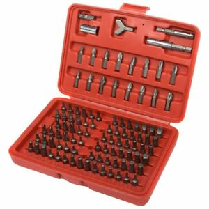 100pc Security Bit Set Torx Star Tamper Screws Hex Key Phillips Slotted Tri Wing $13.59