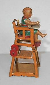 1900s meir german penny tin litho toy