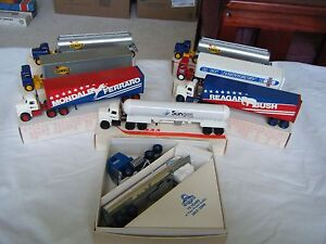 eight winross trucks mint condition in