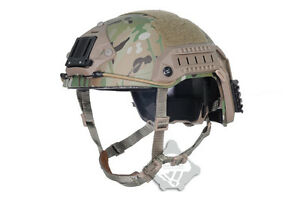 FMA Maritime Multicam MC Tactical Protective ABS Helmet for airsoft paintball