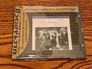 QUEEN THE GAME MFSL GOLD CD SEALED