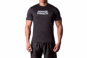 Hammer Strength Apparel Practice Day Semi Fit T Shirt Transpor Stay Dry Fabric