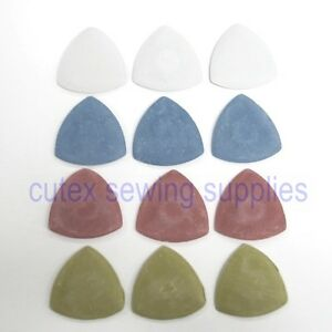Sullivan#x27;s Triangle Clay Tailors Chalk 12 Box Assorted Colors $6.75