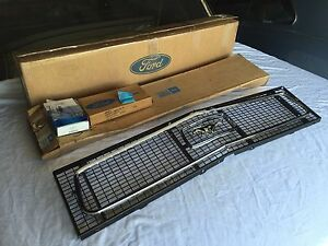NOS 68 FORD MUSTANG GRILLE  MOLDINGS C8ZZ-8200-A C8ZZ-8213-A C8ZZ-8419-A