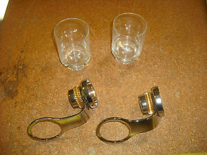 Lot of 2 Tumbler HolderPolished Chrome Solid Brass Wall MountedBathroom