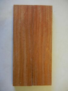 Padauk (2 pc) Knife Scales 1/4