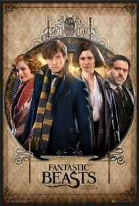 FANTASTIC BEASTS AND WHERE TO FIND THEM - FRAMED MOVIE POSTER (GROUP / FRAME)