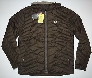 New Under Armour Mens Storm ColdGear Reactor Hooded Fitted Ski Snowboard Jacket