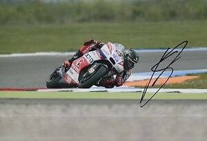 Scott Redding Hand Signed 12x8 Photo OCTO Pramac Ducati 2016 MOTOGP 4.