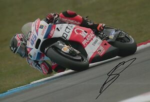 Scott Redding Hand Signed 12x8 Photo OCTO Pramac Ducati 2016 MOTOGP 5.