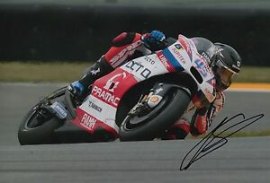 Scott Redding Hand Signed 12x8 Photo OCTO Pramac Ducati 2016 MOTOGP 8.