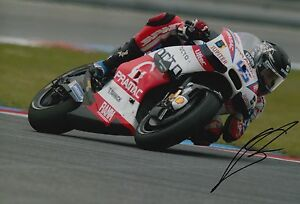 Scott Redding Hand Signed 12x8 Photo OCTO Pramac Ducati 2016 MOTOGP 12.