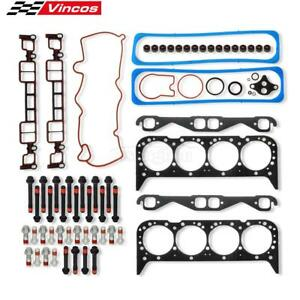Head Gasket Bolts Kit Fit Chevy For GMC For Cadillac 5.7L 96 02 OHV Vin Code R