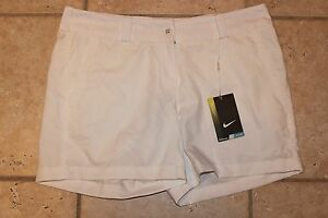 NWT Nike Golf Womens Size 8 Tour Performance Dri Fit Modern Rise Shorts