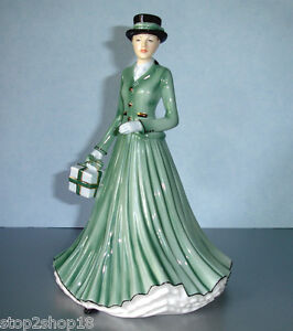 Royal Doulton WE WISH YOU A MERRY CHRISTMAS Songs Ladies Petite 7