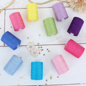 100% COTTON QUILTING SEWING THREAD 1000M BY THE SPOOL 50 COLORS AVAILABLE $8.99