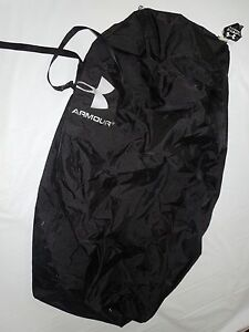 Under Armour black team equipment Locker bag