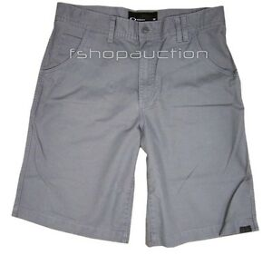 Oakley Fingerprint 2.9 Shorts Sheet Metal Size 34 L Mens Golf Dress Walkshorts