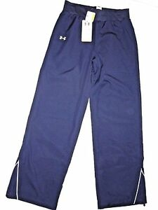 UNDER ARMOUR womens Navy All Seasons Gear athletic  Pants size  SMALL