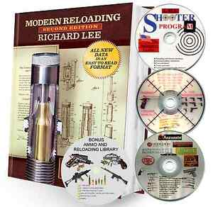 LEE RELOADING MANUAL W4 DISK SOFTWARE SET. SECOND EDITION MAKES A GREAT GIFT