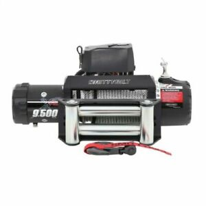 Smittybilt 97495 Universal Black XRC Gen2 9,500 lb Rated IP67 Recovery Winch