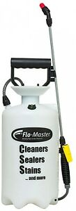 2 Gal. Deck Sprayer Sealant Cleaner Stain Bleach Chemical Handheld Pump Hose NEW