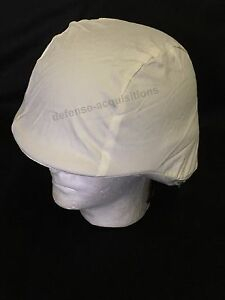 PASGT KEVLAR Helmet Cover Winter Camo Snow Camouflage White US Military NOS
