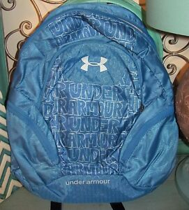 NWT Womens Blue Under Armour Hype II SchoolCollege Backpack