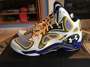 Under Armour Anatomix Spawn size 13 Curry PE Golden State warriors 1248426- 118