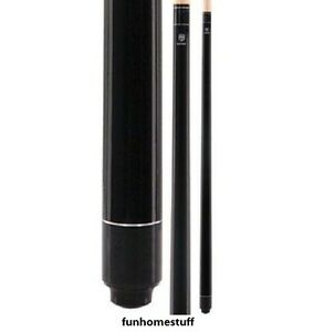 BLACK MCDERMOTT LUCKY L1 MAPLE TWO PIECE BILLIARD GAME POOL TABLE CUE STICK