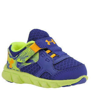 UNDER ARMOUR BINF THRILL RN AC Baby Infant Sneaker Tennis Shoes Blue Camo 2K